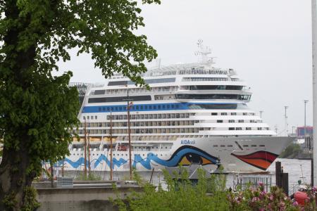 汉堡, 易北河, 端口, hafengeburtstag, landungsbrücken, 小船, 船舶