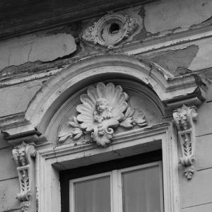历史房子, 窗台上方, 装饰建筑元素, 立面, 救灾, 艺术, 文艺复兴时期