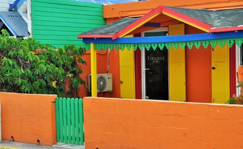颜色, 五颜六色的房子, 房屋, 街道, 色彩缤纷的房子, windows, 百叶窗
