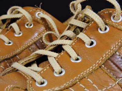 鞋子, 止血, 鞋类, 纠缠不清, 棕色