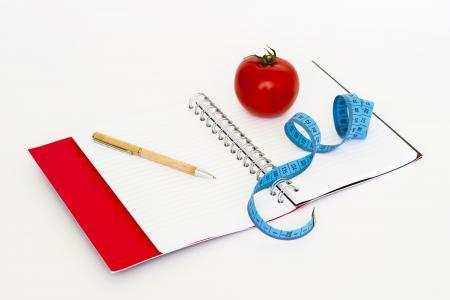 磁带, 通知, 钢笔, 饮食, 脂肪, 健康, 重量