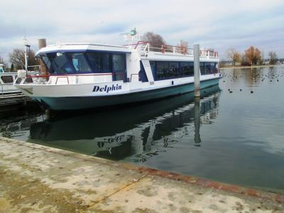 船舶, 马达船, 端口, 湖, 水, 康斯坦茨湖, 背景