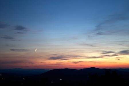 黄昏, 天空, 日落, 暮光之城