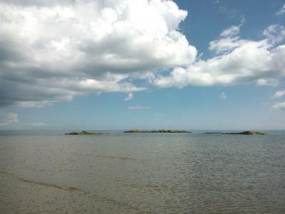 海, 天空, 云计算, 海景, 自然, 爱尔兰, 太阳