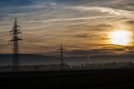 电力, 日出, 太阳, 自然, 景观, 天空, 阳光