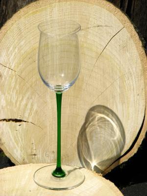 葡萄酒杯, 玻璃, 木材, 树栅格, 阴影, 光, 皮影戏