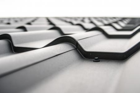 屋面板, 瓷砖, 砖, 黑色, 屋顶, 平铺, 钢板