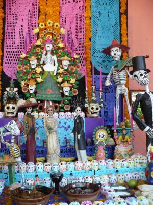传统, 墨西哥, 提供, 文化, 墨西哥, 典型