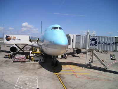 新西兰, 韩国, 大韩航空, 飞机, 波音, 747