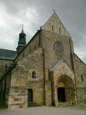 sulejow, 修道院, 教会, 严规熙, 波兰, 建筑, 罗马式风格