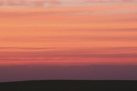 日落, 黄昏, 天空, 橙色, 橙色, 自然, 风景