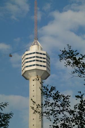 塔, 无线电塔, 高, 广播电视塔, 建设, 输电塔, 餐厅