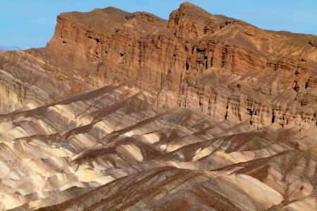 萨, 布里斯点, 死亡谷, 加利福尼亚州, 美国, 旅游景点, 景观