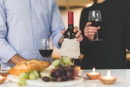 葡萄酒和奶酪