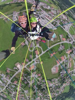 滑翔伞, 瑞士, 体育