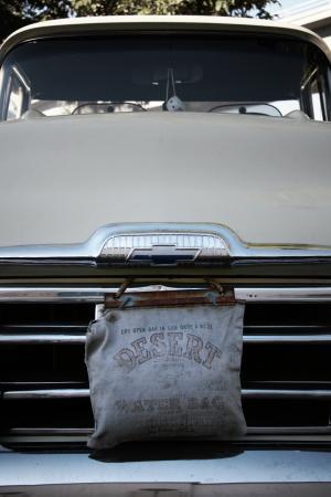 经典, 汽车, 卡车, 皮卡, 烧烤, 年份, 水