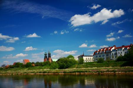 河, 城市, 历史, 天际线, 建筑, 城市天际线, 具有里程碑意义