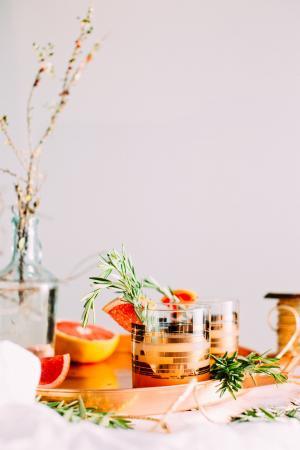 饮水杯, 水果, 表, 托盘, 食品, 装饰