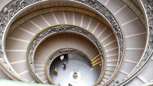 梯子, 螺旋, 梵蒂冈, 罗马, 蜗牛