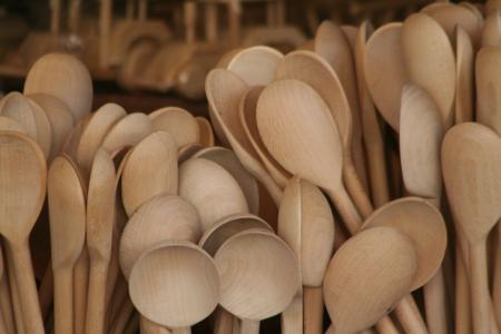 勺子, 树木, 乡村, 波兰, 克拉科夫, 克拉科夫