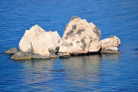海, 岛屿, 度假, 海景, 海滩, 旅程, 波