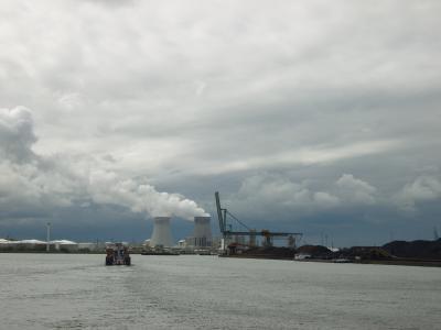 安特卫普, 端口, 比利时, 天气, 云彩, 天空, 云层形成