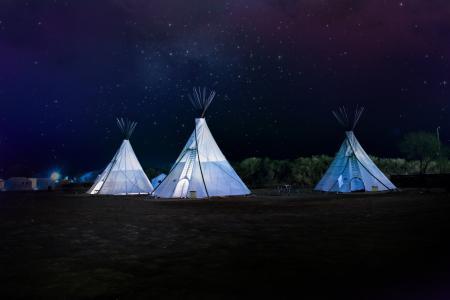 帐篷, 夜空的星星, 自然, 黑暗, 夜间, 晚上, 没有人