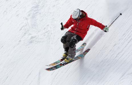 车手, 滑雪, 滑雪, 体育, 高山, 雪, 冬天