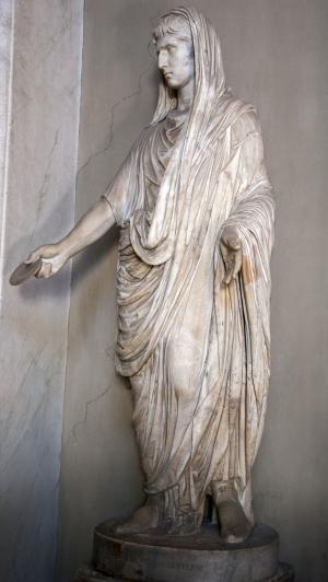 奥古斯, 罗马, 皇帝, 雕像, 远古时代, 意大利