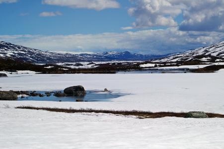 挪威, 景观, 峡湾, 自然, 山, 天空, 云彩