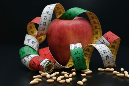 苹果, 松子仁, 删除, 水果, 饮食, 宣战, 措施