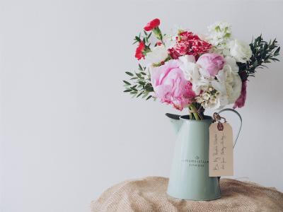 花盆, 花, 礼物, 花束, 装饰, 花瓶, 花