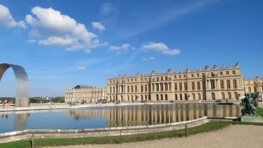 镜子, 盆地, 凡尔赛宫, 城堡, 建筑, 著名的地方, 欧洲