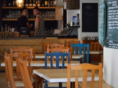 咖啡厅, 椅子, 表, 咖啡师, 咖啡, 酒吧, 空