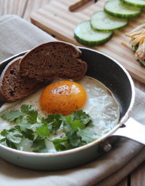 早餐, 食品, 鸡蛋, 营养, 板, 面包, 午餐