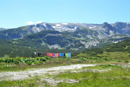 山, 绿色, 自然, 景观, 视图, 自然, 春天