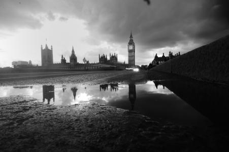 bigben, 伦敦, 旅行, 英格兰, 议会, 建筑, 西敏寺