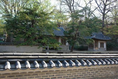 紫禁城, 大韩民国, 传统, 栅栏, 房屋, 建设, 朝鲜语