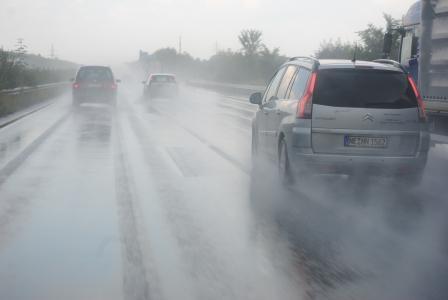滑水, 公路, 德国, 沥青, 驾驶学校, 驾驶一辆车, 街道
