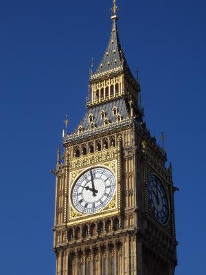 大笨钟, 关闭, 具有里程碑意义, 伦敦, 英格兰, 时钟, 西敏寺
