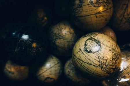 地球仪, 领域, 地图, 球, 世界, 全球, 连接