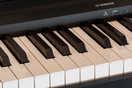 钢琴, 键盘, 音乐, 备注, 文书, 钥匙, 雅马哈