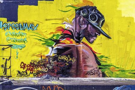 背景, 涂鸦, 垃圾摇滚, 街头艺术, 涂鸦墙, 涂鸦艺术, 艺术