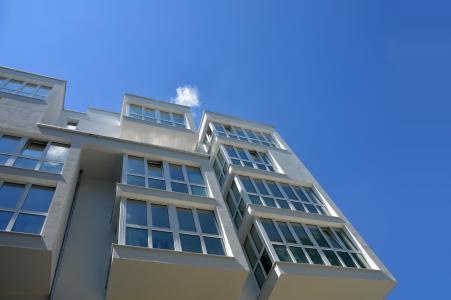 坎普顿, 糖化车间, 建筑, 塔房子, 玻璃, 镜像, 云计算
