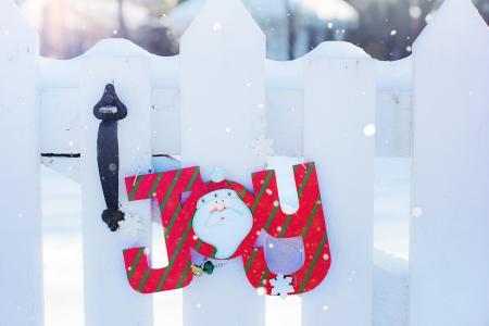 快乐, 冬天, 雪, 圣诞节, 问候, 快乐, 感冒