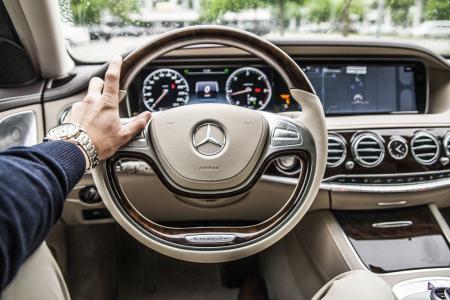 方向盘, 汽车, 驱动器, 驾驶, 汽车, 内政, 仪表板