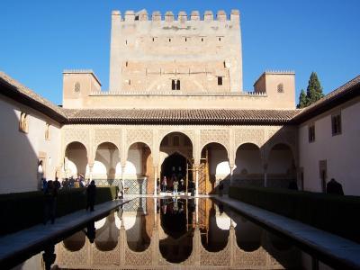 阿罕布拉, 水的倒影, 文化, 建筑, 著名的地方, 历史