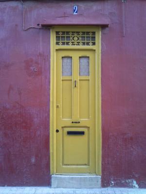 门, 建筑, 年份, 颜色, 红色, 立面, 老