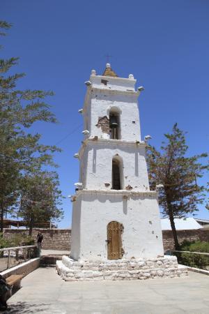 教会, 圣佩德罗-卡玛卡, 北, 智利北部, 艾马拉, 里面, 如诗如画