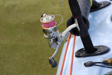 钓鱼卷轴, 线, 捕鱼, 设备, 处理, 钓鱼, 淡水